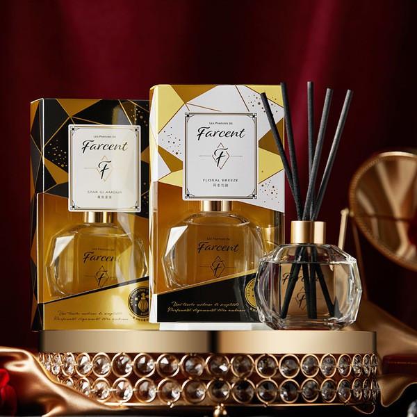 Farcent Perfume Reed Diffuser 輕奢室內擴香瓶- SeaSaltWood/FreesiaPear (120ml)