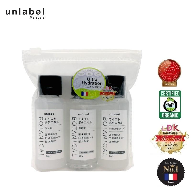 unlabel Skincare Travel (3 x 50ml)