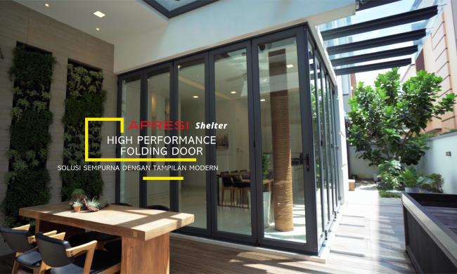 APRESI High Perfomance Folding Door