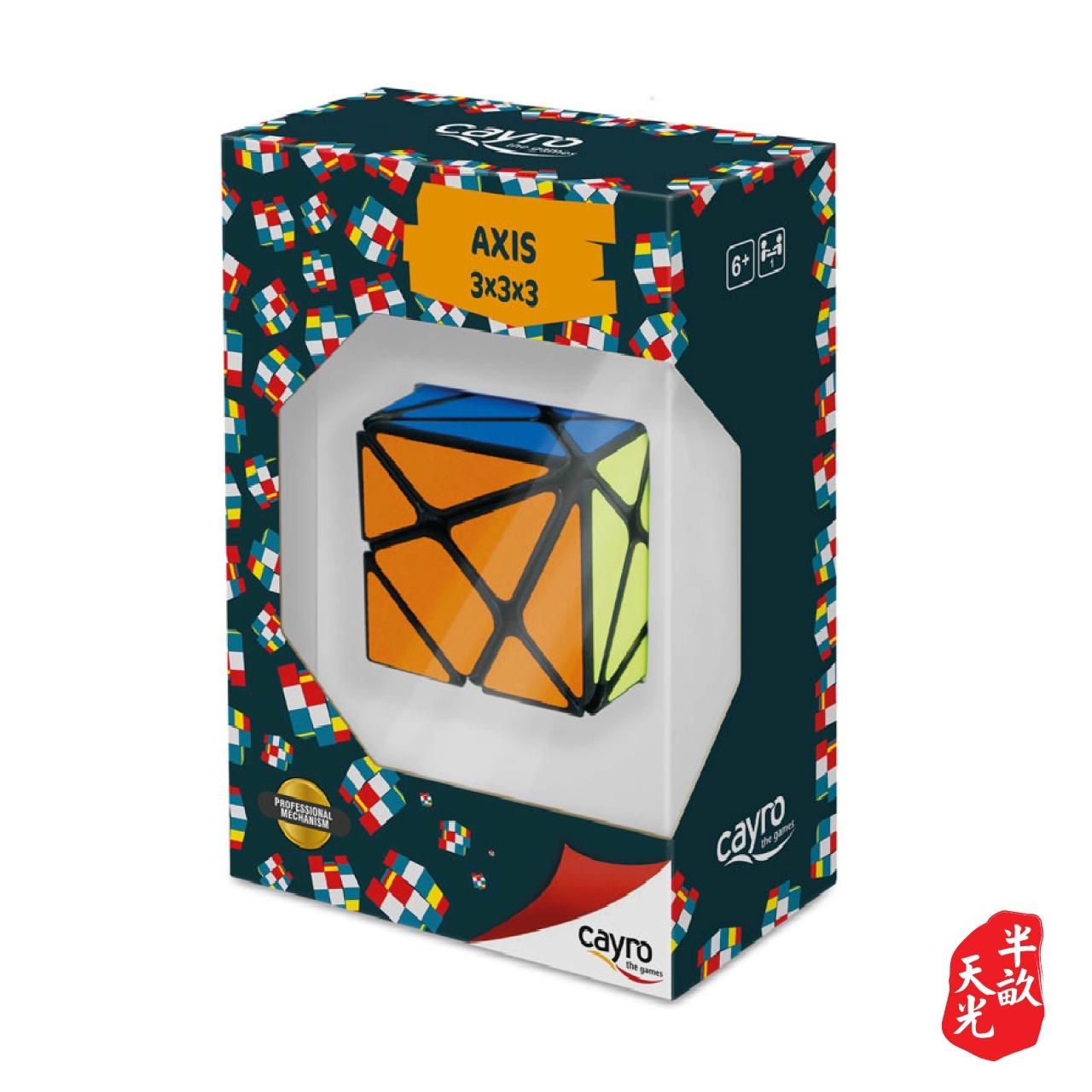 儿童桌游/儿童游戏/魔术方块: 3x3 Axis Cube
