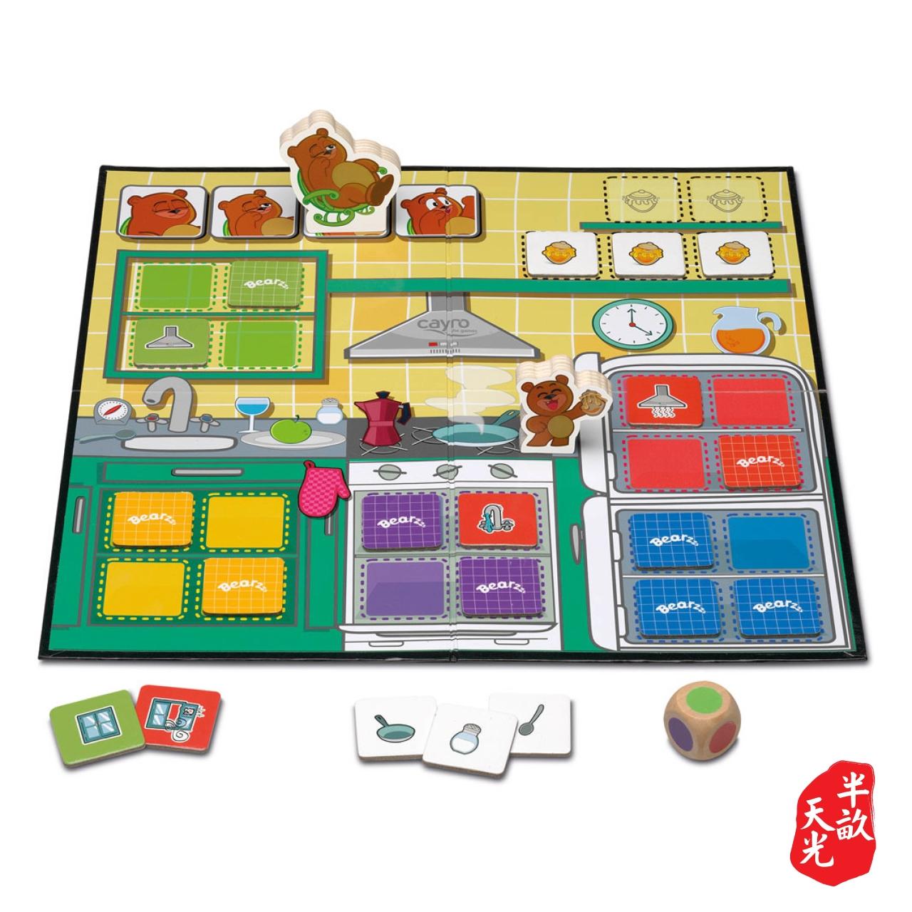 儿童桌游/儿童游戏/正版桌游: Bearzzz