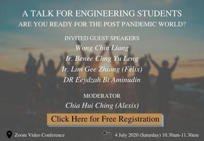 TALK # 2: <br>A TALK FOR ENGINEERING STUDENTS