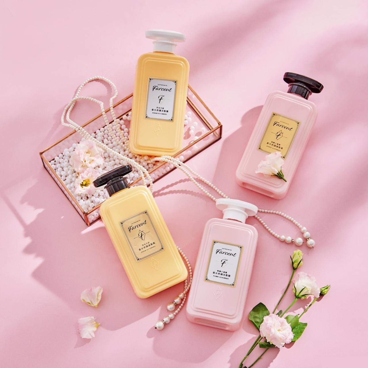 Farcent香水奇蹟洗髮露 自然蓬鬆/柔順修護 Shampoo /Conditioner 600ml