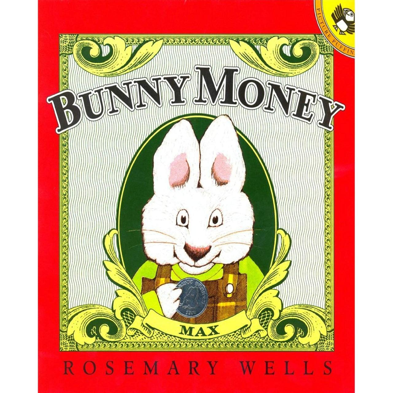 BUNNY MONEY 小兔子的钱袋 (平装)【儿童绘本/英语绘本/有趣故事】