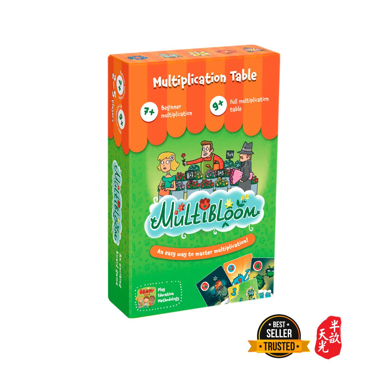 儿童桌游/正版桌游/数学游戏:魔法花店 Multibloom